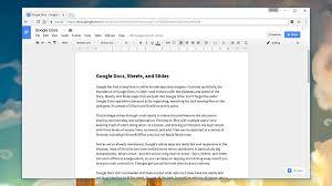 google office slides. Google Docs. Image: Screenshot Office Slides T