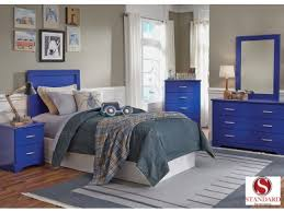 Leo Blue 3 Piece Twin Bedroom Set