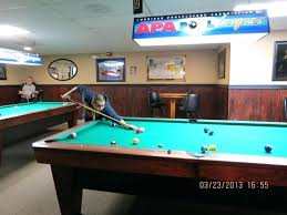 Regular Size Pool Table Secuted Info