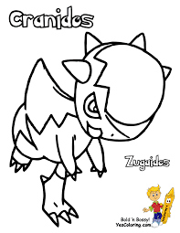 Coloring Pages Draw Easy Pokemon Colouring Turtwig Cherrim Free