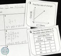 teaching writing linear equations