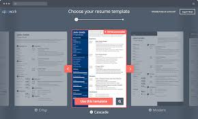 Resume Template Maker Best Resume Builder Online Your Resume Ready In 48 Minutes