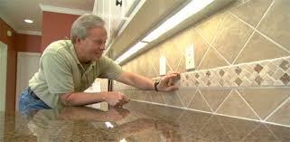 Install Ceramic Tile Backsplash Mesmerizing How To Install A Ceramic Tile Backsplash Today's Homeowner