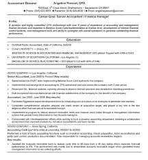 Cpa Resume Objective Sample Accounting Resume Objective Resume ...