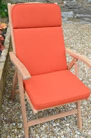 terracotta recliner chair cushions and