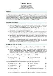 Summary Examples For Resume Profile Summary For Resume Examples