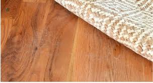 is jute backing rugs safe for hardwood