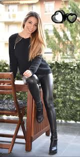 skin tight shiny leather leggings photos search