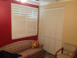 louvered closet doors stylish