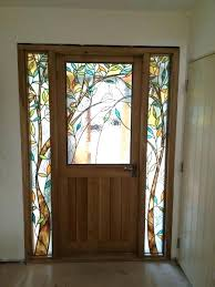 stained glass front doors leaded glass front doors stained glass front doors oak front door with