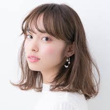アラサー女子にオススメ前髪ありの大人かわいいヘアスタイルhair