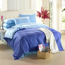 Blue Bedding set King size Queen quilt duvet cover 100% Cotton bed ... & Blue Bedding set King size Queen quilt duvet cover 100% Cotton bed sheets  bedspread linen Adamdwight.com
