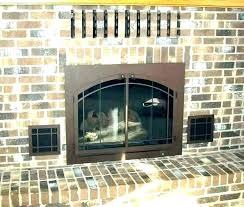 gas fireplace exterior vent decorative cover