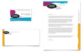 Church Outreach Ministries Business Card & Letterhead Template ...