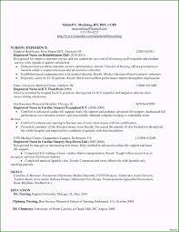 Registered Nurse Resume Sample Format 50 Tricks You Need To
