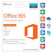 microsoft office 365 home. microsoft office 365 home 5 device 12 months card