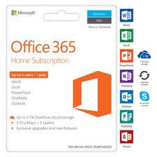 microsoft office 365 home. microsoft office 365 home 5 device 12 months card
