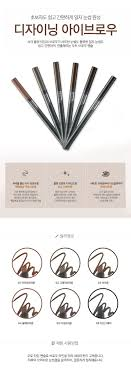 Designing Eyebrow Face Shop Details About The Face Shop Designing Eyebrow Pencil Korean Cosmetics
