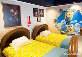 Minion Bedroom A Look Inside Japans First Minions Room Digjapan