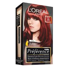 Buy Preference Hair Colour P37 Plum Intense Dark Red 1 Pack By L