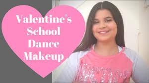 middle dance makeup tutorial valentine s makeup