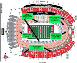 Ohio Stadium Seating Chart With Rows A Judgmental Seating Chart Of The Shoe
