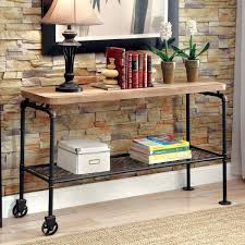 antique sofa table for sale. Brilliant Sale Furniture Of America Galbus Industrial Antique Black Wood Metal 1shelf Sofa  Table Intended For Sale A