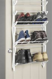 Decorating black shoe cabinet with doors pictures : Amazon.com: Whitmor, Over-The-Door Shoe Rack, 24-Pair, White: Home ...