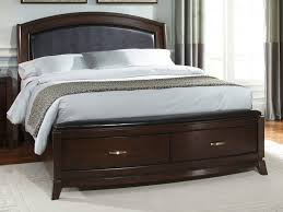 Full Size of King Size Bed:furniture Bedroom Classic Brown High Gloss  Finish Bed Frame ...