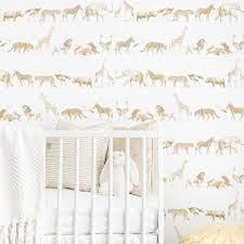 Vintage Safari Animal Wallpaper in 2021 ...