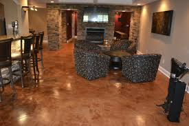 Concrete Flooring Kitchen Concrete Basement Cheap Floor Ideas Bat Flooring Ideas Cheap