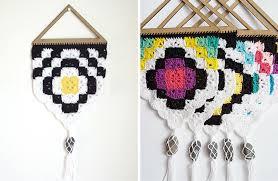 beautiful easy free crochet pattern tribal wall hanging design s