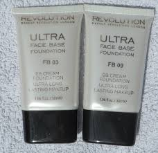 makeup revolution ultra base bb cream foundation
