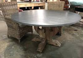 zinc dining table top care abbott reviews indore round india