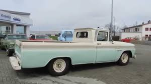 1960 Chevrolet Apache C-20 V8 Longbed Pick-Up Fleetside ---- Video ...