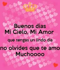Good Morning Mi Amor Quotes Best of Galería De Imágenes Con Frases De Buenos Dias Mi Amor Para Descargar