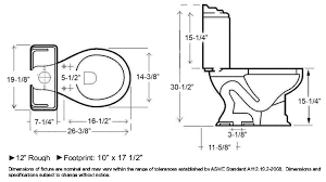 attractive standard wc dimensions here for dimensions american ev93