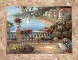 vivian flasch terranean terrace ii painting