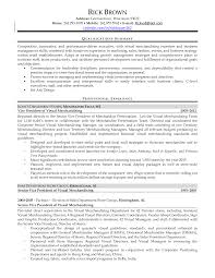 Visual Merchandiser Resume Visual Merchandiser Resume Cover Letter Therpgmovie 8