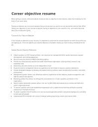 Powerful Resume Objective Statements Good Resume Objective Statements Sample Career Make Goal For Your
