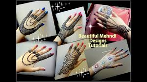 Automatic Mehndi Design Machine How To Apply Easy Simple Jewellery Inspired Mehndi Designs For Hands Eid Weddings