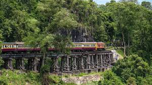 thailand by train adventure