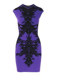 Alexander Mcqueen Dress Size Chart Alexander Mcqueen Jacquard Knitted Dress