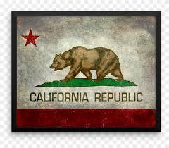 wall art california state flag