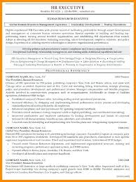 Hr Manager Resume Format Hr Manager Resumes Foodcity Me