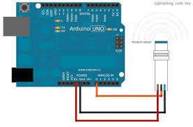 proximity induction sensor npn normally open switch lj12a3 4 z bx the metal proximity sensor will have three color wire the blue should be in the ground brown is on vcc which should be giving to arduino 5v vcc and