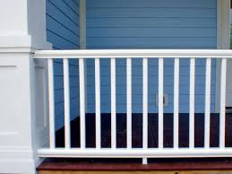 Decorative Metal Porch Posts How To Install A Porch Railing Hgtv
