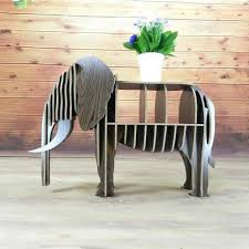 nordic furniture. DIY Wood Elephant Bookshelf Bookcase Nordic Style Animal Multi-Purpose Furniture Creative Wall Table
