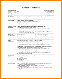 New Resume Template For College Student Anthonydeaton Com