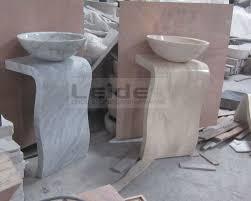 Marble pedestal sink Carrara Marble Carrara White Marble Pedestal Sink Ldf089 Productosmoringacomco Carrara White Marble Pedestal Sink Ldf089 Buy Stone Pedestal Sink
